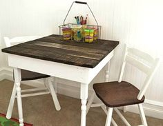 There are different pallet table plans for your living and drawing rooms. You can make the pallet tables with the planks of wood available in your home or you Pallet Furniture, Furniture Projects, Kids Furniture, Furniture Making, Kitchen Furniture, Antique Furniture, Modern Furniture, Table Palette, Palette Deco