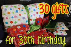 Love Elizabethany Gift Idea 30 Gifts For 30th Birthday