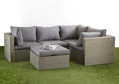 Ottoman Sofa, Wicker Sofa, Lounge Sofa, Sofa Set, Outdoor Lounge Furniture, Outdoor Decor, Modular Lounges, Grey Cushions, Modular Design