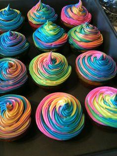 57b3d1912215d4 92 Best tie dye cupcakes images