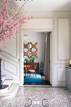 Paris Mid-Century - Hallway Ideas – Decorating Ideas