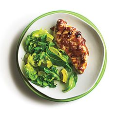 Grilled Chicken with Bourbon Peach Butter - 5-Ingredient Summer Recipes - Cooking Light