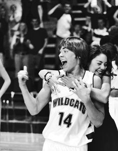 High School Musical- Gabriela and Troy a.k.a-  Zac and Vanessa