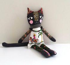 Art Doll Cat Rag Doll named Kali