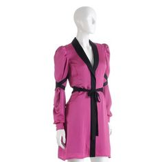 Signature Robe. A sultry silhouette informs this sumptuous silk robe from LELO. $200.00