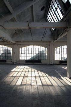 Elsker gamle industribygninger!