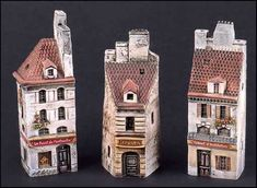 Lot: GROUP OF THREE GAULT FRENCH PORCELAIN MINIATURES., Lot Number: 1262026, Starting Bid: $25, Auctioneer: Susanin's Auctions, Auction: Sale 126: October Premiere Auction, Date: October 19th, 2013 EEST