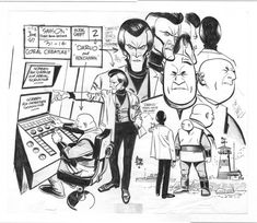 Samson Model Sheet - Alex Toth, in Larry Tun's Non-superhero stuff Comic Art Gallery Room - 955061