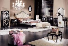 Romancing the Bedroom - Dramatic Bedroom on HomePortfolio by Olga Rechdouni