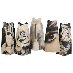 Harry Gordon - London Series Paper Dresses, Complete 1st Edition (1960s) - AS DECO ON A WALL