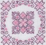 Blackwork Kits - Roses - Holbein Embroideries Blackwork Kit