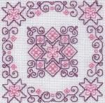 Blackwork Kits - Roses - Holbein Embroideries Blackwork Kit