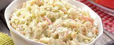 Σαλάτα κόσλοου (Coleslaw).. Μια σαλάτα με λάχανο, καρότο και μαγιονέζα! Ένα τέλειο συνοδευτικό για τα κυρίως πιάτα σας. Coleslaw, Healthy Salads, Potato Salad, Cabbage, I Am Awesome, Recipies, Food And Drink, Sweets, Stuffed Peppers