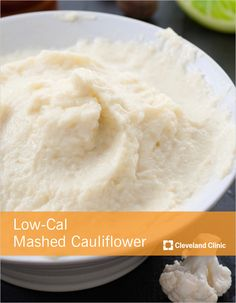 Same great taste as #potatoes with a fraction of the #calories! #diet #cauliflower