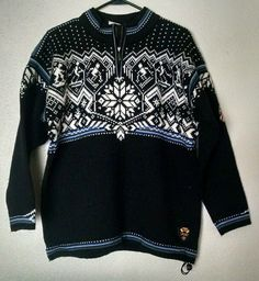 DALE OF NORWAY Mens US Olympic Ski Team Nordic Knit Sweater Size Small #DaleOfNorway #OlympicSweater #USSkiTeam #NordicSweater #MadeInNorway #LoveIt #SoNice #StayWarm #ForSale #Shopping #eBay