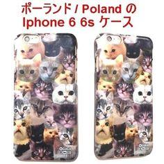 MrGUGU&MissGO iphone 6 6s ケース ねこ 顔 猫雑貨 携帯 即納