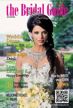 Wedding Vendors Magazine | Ontario, Canada | The Bridal Guide