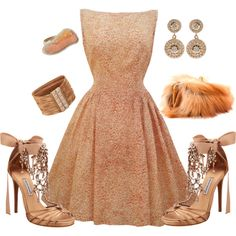 Classy Chic 59, created by #tes-coll on #polyvore. #fashion #style Tabitha Simmons Christian Louboutin