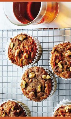 A recipe for lectin-free, sweet delicious carrot cake muffins perfect for breakfast or a sweet treat (with coconut milk! Homemade Carrot Cake, Healthy Carrot Cakes, Healthy Desserts, Healthy Lunches, Lectin Free Foods, Lectin Free Diet, Muffin Recipes, Cake Recipes, Flour Recipes