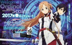Asuna & Kirito (Sword Art Online The Movie: Ordinal Scale New Visual )
