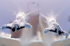Double Dip Barcelona, Spain July 21, 2013 Jeinkler Aguirre and Jose Guerra of Cuba compete in the men's 10-meter synchro platfrom preliminary competition at the FINA Swimming World Championships. #cubaDiverLife