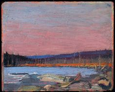 Tom Thomson. 'A Northern Lake' c. 1916