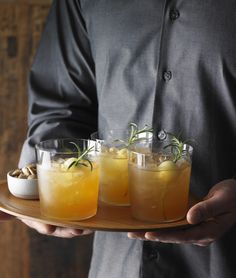 A holiday fave: Marc Forgione's Honeycrisp Apple Spiced Rum