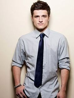 Peta - Josh Hutcherson, super cute and I love him so he will do?! But not a Peta fit!!