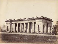 Prinsep's+Ghat,+Calcutta+(Kolkata)+-+Albumen+Silver+Print+c1850's