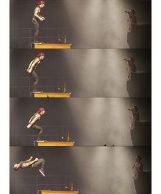 Somebody side compare his backflip to Brendon's.