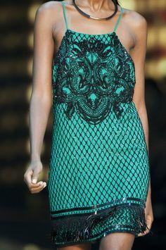 Mozaic beads dress
