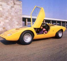 Lamborghini Countach - before the ugly big bumpers.