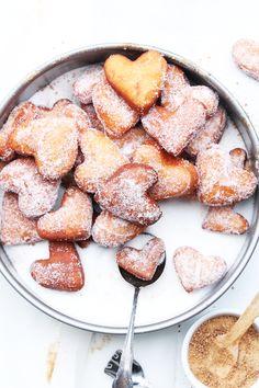 homemade heart krebbel. Rezept auf Deutsch!!