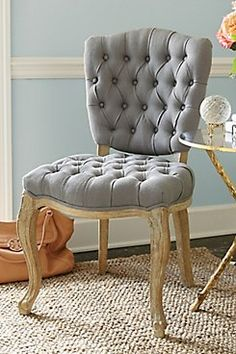 Rhone Tufted Side Chair from Soft Surroundings