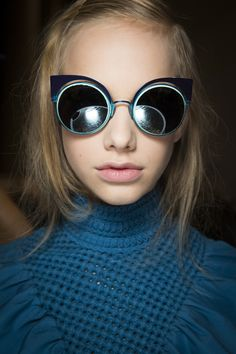 Fendi Spring 2016 Ready-to-Wear Fashion Show Beauty