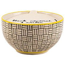 Buy Paddywax Boheme Small Coconut and Amber Scented Candle Online at johnlewis.com