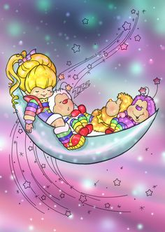 Rainbow Brite Coloring Page by SyrinaAstles.deviantart.com on @deviantART