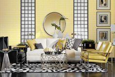 Merveilleux Yellow Living Room | Shop By Room | Ethan Allen