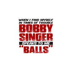 Bobby Singer - Sticker