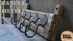 Hierro y Madera ♥ https://www.facebook.com/mariagatelier