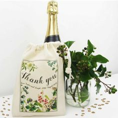 These personalised wedding favour bags from Weasel and Stoat would make a wonderful gift for mums and aunties