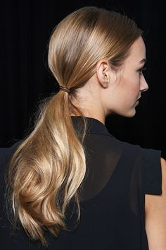 Ponytail at Jason Wu S/S 2015