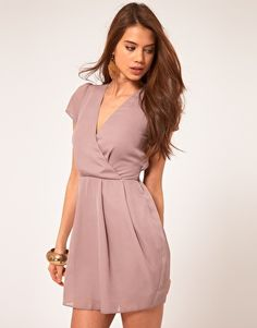 ASOS Tulip Dress With V Neck... $62.67