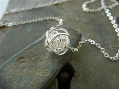 This love knot necklace represents all the twists and turns we take in our life and in our relationships with friends, family and loved ones. for wives Knot Necklace, Simple Necklace, Dog Tag Necklace, Christmas Presents For Girlfriend, Jewelery, Jewelry Necklaces, Jewelry Accessories, Unique Jewelry, Necklace For Girlfriend