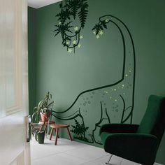 Boys Wall Stickers, Large Wall Decals, Kids Wall Decals, Sticker Mural, Sticker Vinyl, Dinosaur Kids Room, Giant Dinosaur, Dinosaur Bedroom Decor, Dinosaur Wall Decals