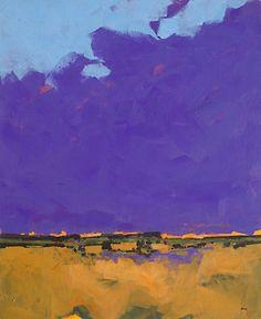 Purple sky, Paul Bailey