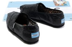 fresh and ready for your feet,TOMS shoes,god...SAVE 70% OFF! this is the best! | See more about glitter shoes, crochet shoes and toms shoes outlet.