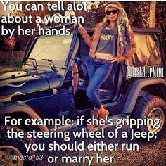 "Sent in by @mecfd153 ""#jeep #wrangler #jeepher @jeepher"" #itsajeepmeme @itsajeepmeme #Padgram"