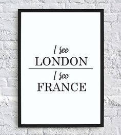 I See London, I See France – Funny Bathroom Wall Decor Print Digital Downl - Woodsupply Bathroom Humor, Bathroom Wall Decor, Small Bathroom, Brown Bathroom, Bathroom Ideas, Bathroom Signs Funny, Mosaic Bathroom, Seashell Bathroom, Bathroom Furniture