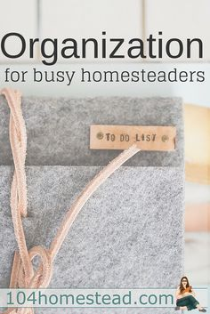 Printables for Organizing Your Homestead How does the modern homesteader manage to balance everything that needs to be done? Simple living doesn't have to be hard.